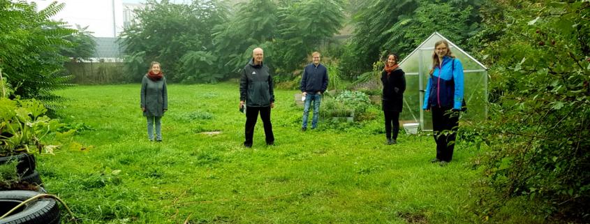 Personen im Bild von links nach rechts: Nadine Bauer, Detlef Staude, Philipp Seitz, Katharina Gebel, Theresa Eberlein